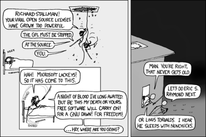 Open Source, by xkcd.com