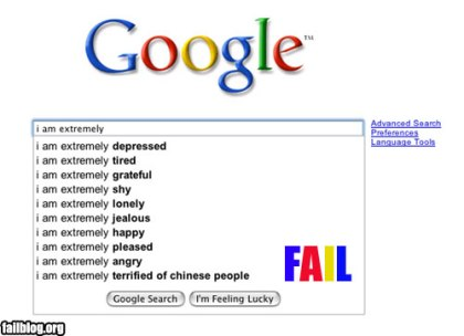 What to do with all the Google queries now? from failblog.org
